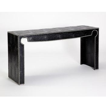 Jar Designs Priscilla Black Console