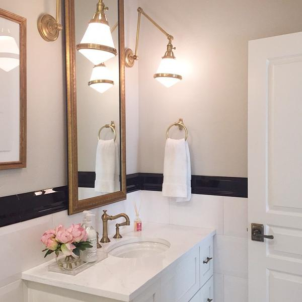 view full size - Bathroom Wall Sconces