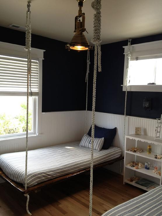 Rope Hanging Boys Bed Cottage Boy S Room