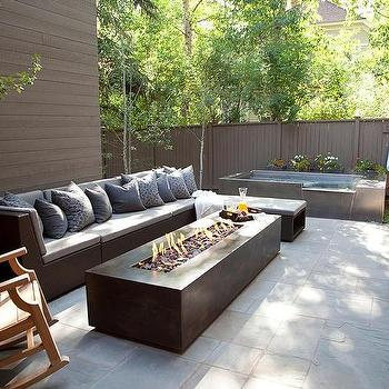 Modern fire pit design ideas for Outdoor modern fire pit