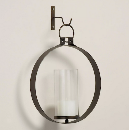 Circular Wall Sconce Candle Holder : Wall Candle Ring Look for Less
