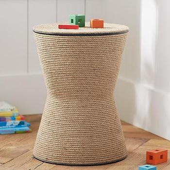 Rope Natural Side Table