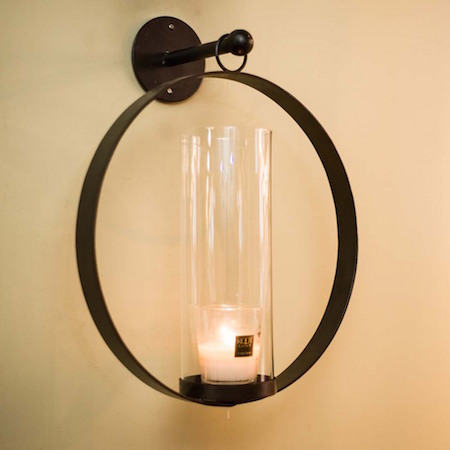 Ring sconce look 4 less and steals and deals 6899 world market bronze metal ethan round pendant sconce aloadofball Choice Image