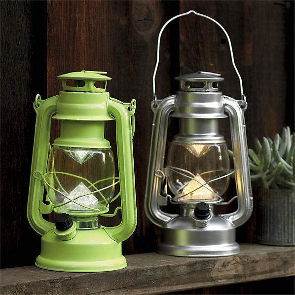 Green And Silver Beacon Lanterns