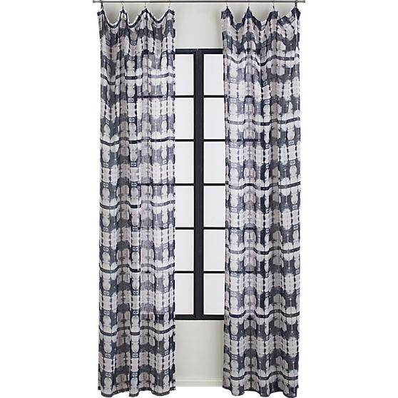 Tie Dye Sheer Curtains Nautical Sheer Curtains