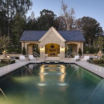 Open Pool House Design Ideas