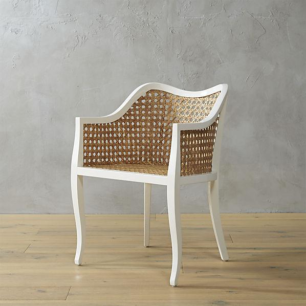 Kubu Rattan Silhouette Molded Chair : tayabas cane side white frame rattan chair from www.decorpad.com size 598 x 598 jpeg 43kB