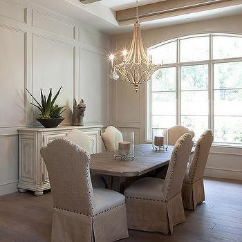 full wall wainscoted dining room - Wainscoting Design Ideas