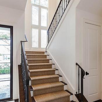 Kitchen Next To Stairs Design Ideas