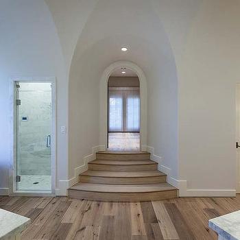 Sunken Bathroom Transitional Bathroom