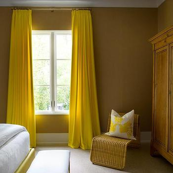 Brown Curtains Design Ideas