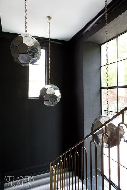Lighting Basement Washroom Stairs: Staggered Staircase Lighting