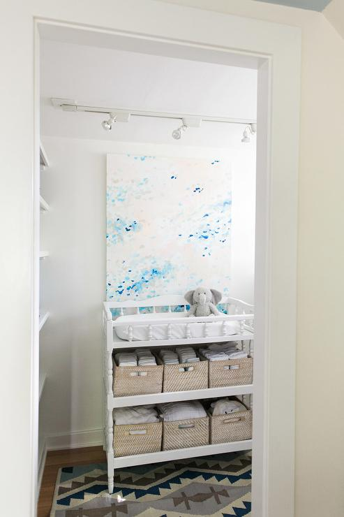Nursery Changing Table In Closet View Full Size