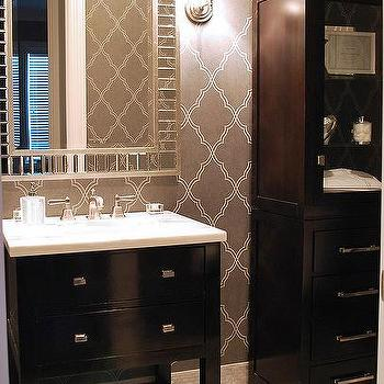 Bathroom Vanity And Linen Cabinet grey bathroom linen cabinet design ideas