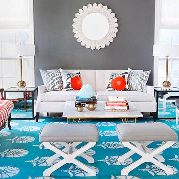 Gray And Turquoise Living Room Part 81