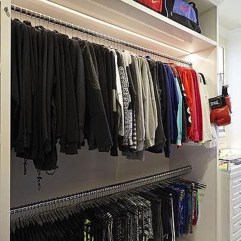 Gym Clothes Closet Design Ideas