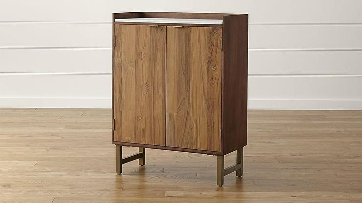 Cantina Brown Bar Cabinet
