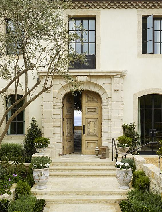 French provincial home exterior french home exterior for French doors front entrance