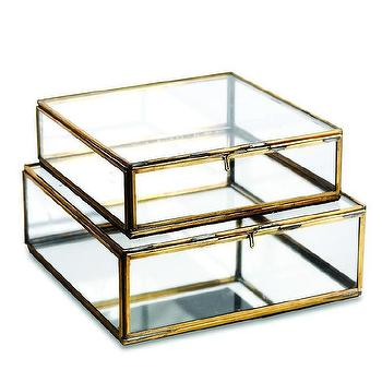 Clarus Display Boxes Crate And Barrel