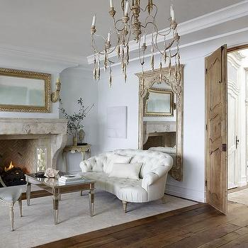 French Provincial Living Room Design Ideas