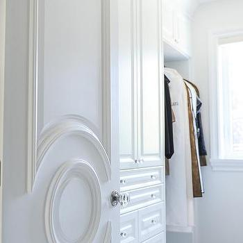 Closet Doors with Circular Moldings : door moldings - Pezcame.Com