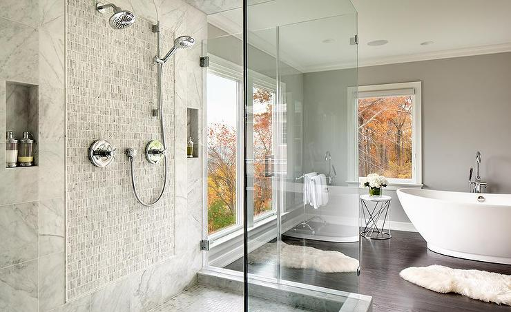 24 Stunning Luxury Bathroom Ideas For His And Hers: Freestanding Tub Design Ideas