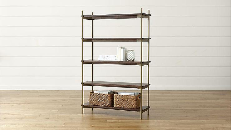 tag res beautiful britain journal modular soane product bookcase etageres brass s re