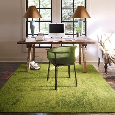 Down to earth grass carpet tile for Grass carpet tiles