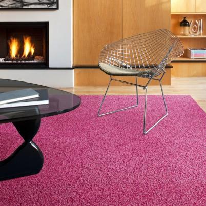 Reorinted Pink Carpet Tile