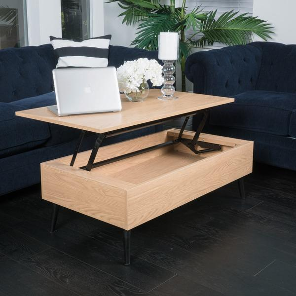 christopher knight home lift top wood storage brown coffee table. Black Bedroom Furniture Sets. Home Design Ideas