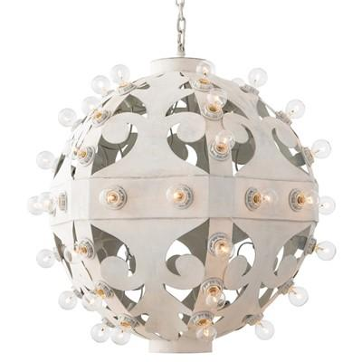 Norma whitewash pendant arteriors norma whitewash pendant aloadofball Image collections