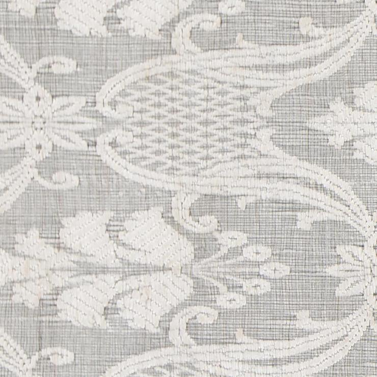 Shenaz Textured Ivory Hand Woven Area Rug