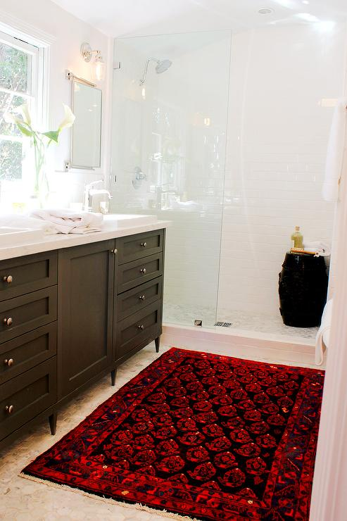 his and hers bathroom set. view full size Go Through Bathroom to Closet  Transitional