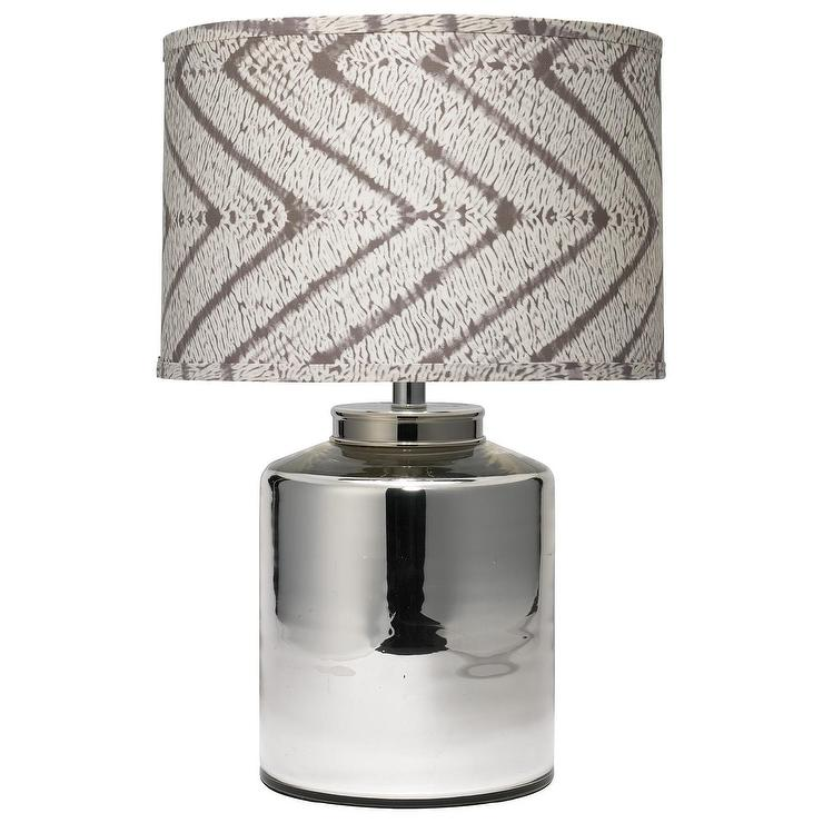 jamie young carson silver table lamp