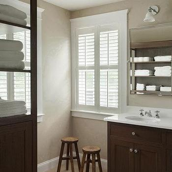 modern country bathroom design - Bathroom Ideas Brown And White