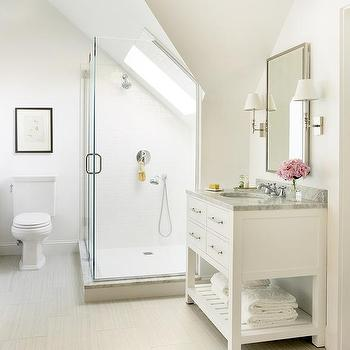 Bathroom Sloped Ceiling Design Ideas