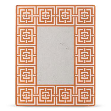 Happy Chic by Jonathan Adler Laura Acrylic Orange Frame