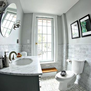 Image gallery monochromatic bathroom for Monochromatic bathroom designs