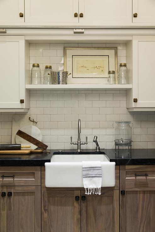 Walk In Pantry With Soapstone Countertops Transitional
