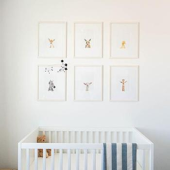 Gold stars nursery mobile design decor photos for Above the crib decoration ideas