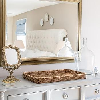 entryway with dresser brass deco entryway mirror