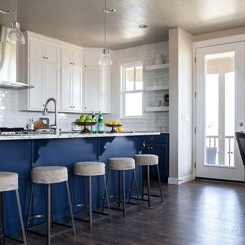 gray and blue granite countertops transitional kitchen. Black Bedroom Furniture Sets. Home Design Ideas
