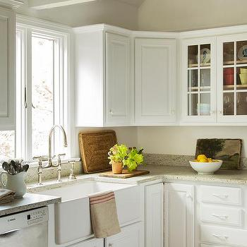 Light Grey Raised Panel Kitchen Cabinets Design Ideas