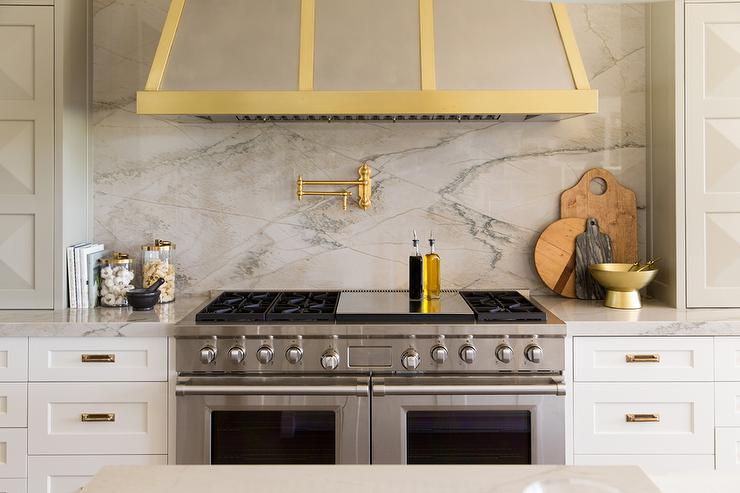 White marble alternatives transitional kitchen sarah Backsplash ideas quartz countertops