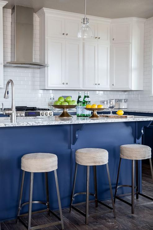Gray And Blue Granite Countertops