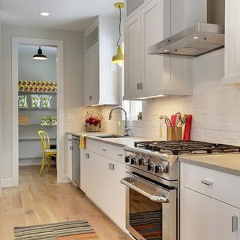Freestanding Metal Pantry Shelving Design Ideas