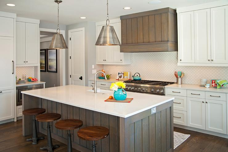 Grey Wash Kitchen Cabinets Design Ideas