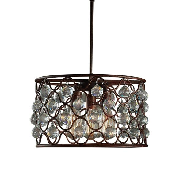Brown Carriage Chandelier – Brown Chandelier