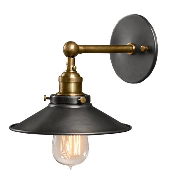 Dorothy 1-Light Black Edison Wall Sconce