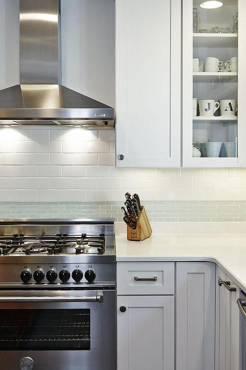 Mixed Kitchen Backsplash Tiles Design Ideas